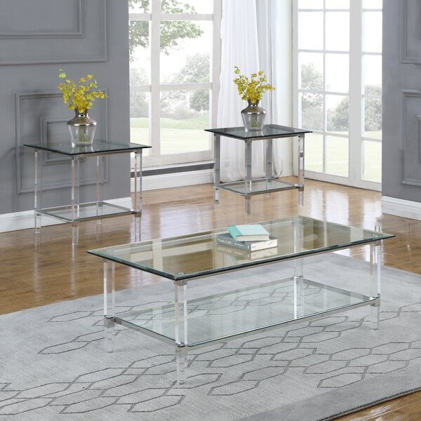 Scotty 3 Piece Coffee Table Set By Mercer41
