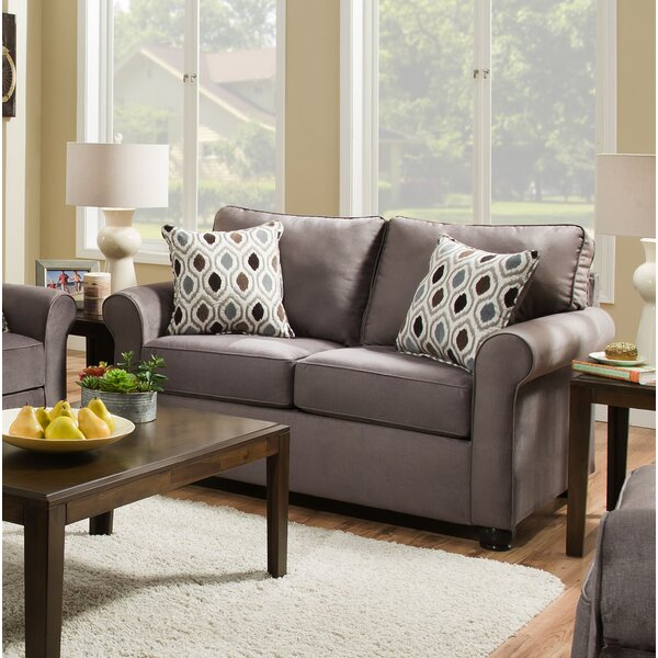 New High-quality Henriquez Loveseat by Alcott Hill by Alcott Hill