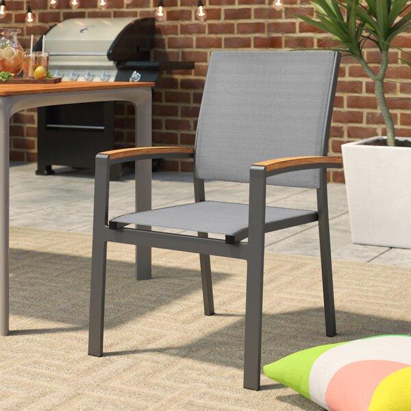 Krystal Patio Dining Chair (Set of 2) by Brayden Studio