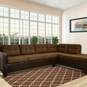 : brown sectional - Sectionals, Sofas & Couches