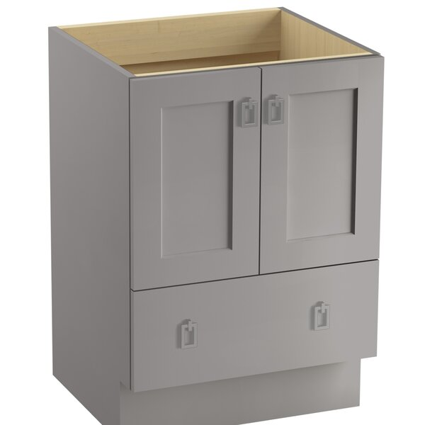 Poplin™ 24 Vanity with Toe Kick, 2 Doors and 1 Drawer by Kohler