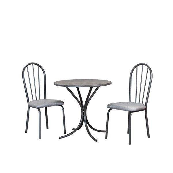 Brigitte 3 Piece Dining Set by Winston Porter