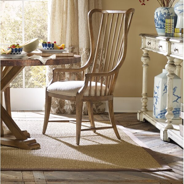 Sanctuary Solid Wood Dining Arm Chair (Set of 2) by Hooker Furniture