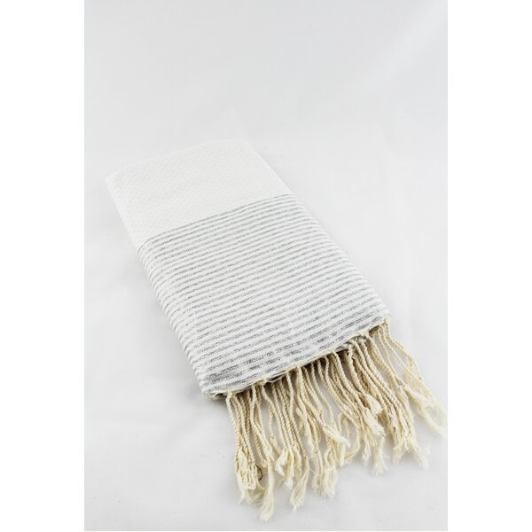 Fouta Honeycomb Natural Bath Towel by Scents and Feel