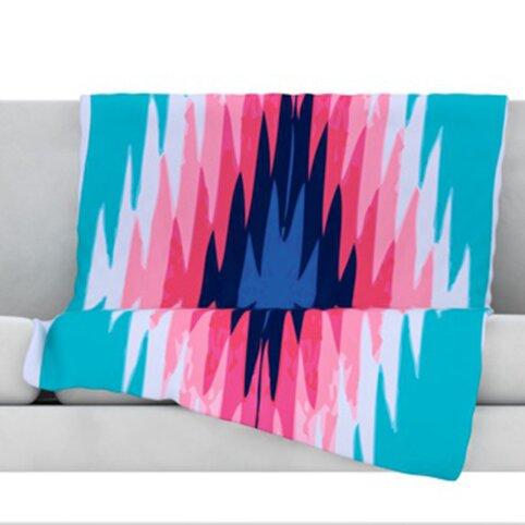 Surf Lovin II Fleece Throw Blanket by KESS InHouse
