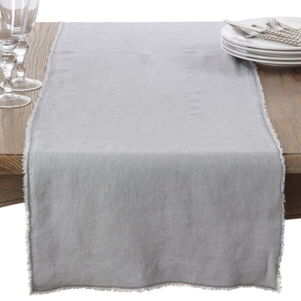 Sharlene Fringe Table Runner by Greyleigh