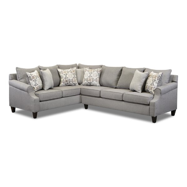 Thurman Left Hand Facing Sectional By Canora Grey