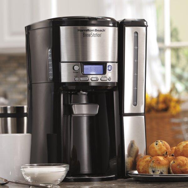 BrewStation 12-Cup Dispensing Coffee Maker by Hamilton Beach