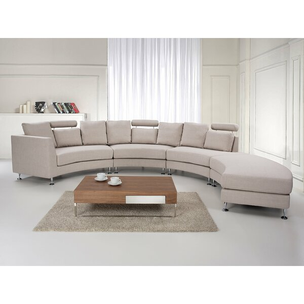 Hiep Round Modular Sectional by Orren Ellis