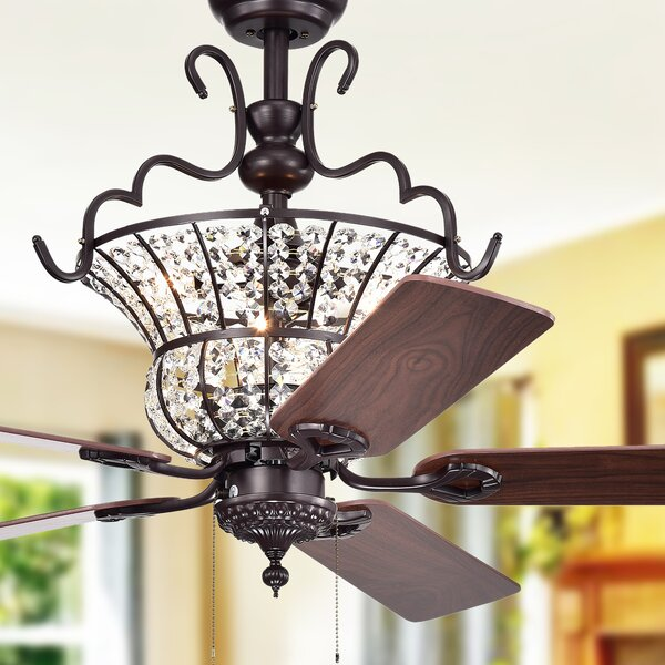 52 Drumcullen 5 Blade Ceiling Fan by Astoria Grand