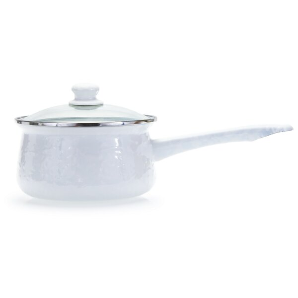 Stainless Steel Sauce Pan with Lid by Golden Rabbit
