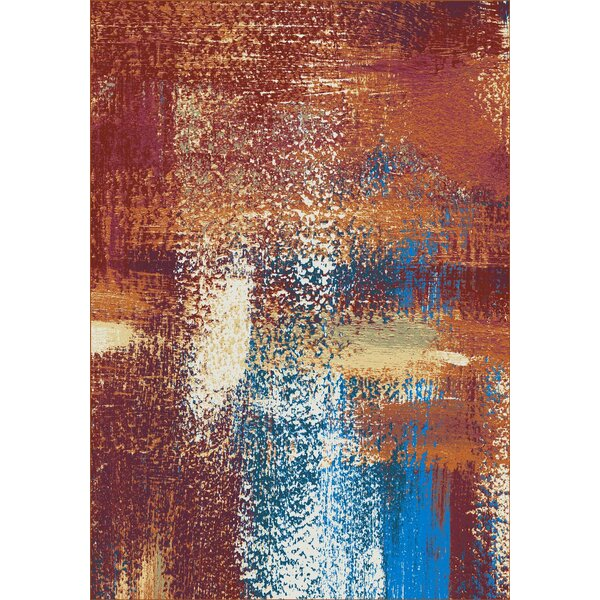 Howle Red Area Rug by Latitude Run