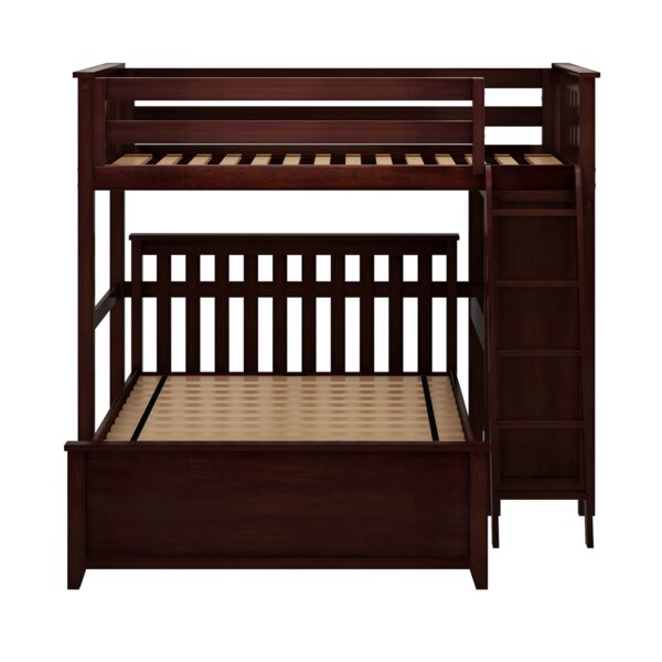 Geyer Twin Over Full L-Shaped Bunk Bed by Harriet Bee