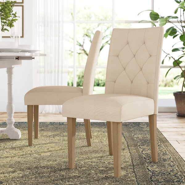 Asuncion Tufted Upholstered Dining Chair (Set of 2) by Lark Manor