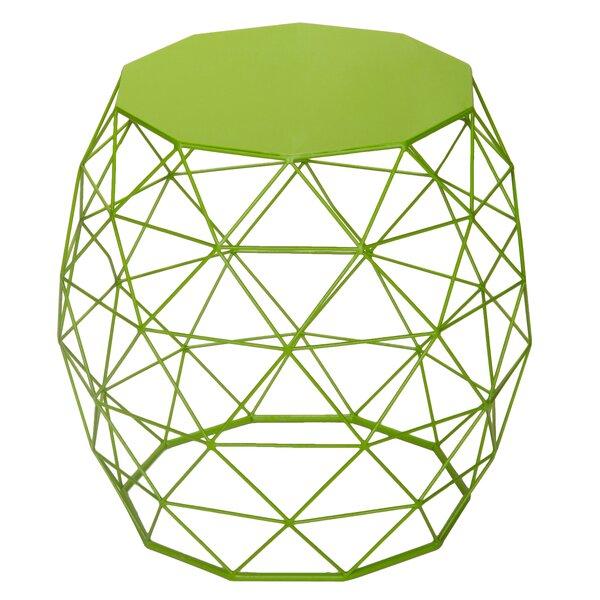Alysha  Accent Wire Round Stool by Zipcode Design