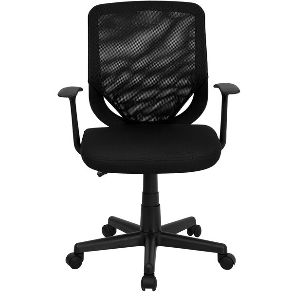 Wojciechowski Mid-Back Mesh Desk Chair by Symple Stuff