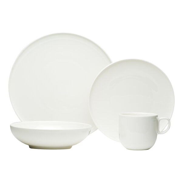 Every Time 16 Piece Dinnerware Set, Service for 4 by Red Vanilla