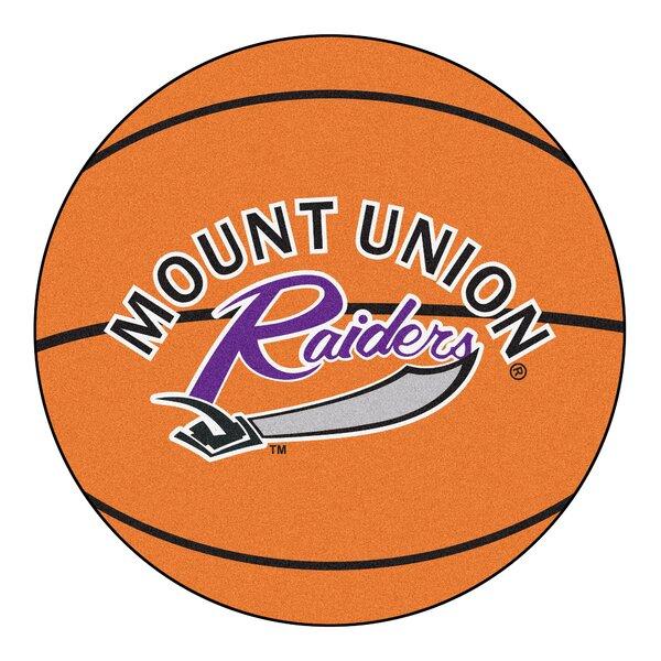 NCAA University of Mount Union Basketball Mat by FANMATS