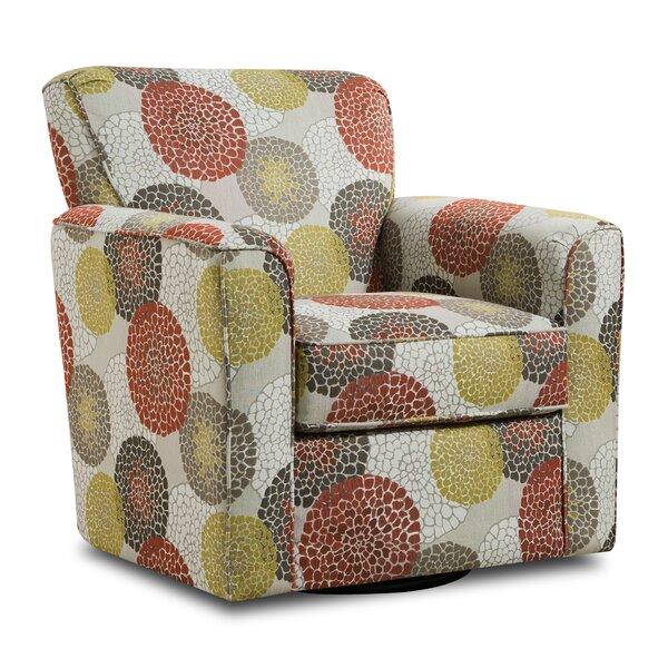 Roulston Swivel Armchair by Red Barrel Studio