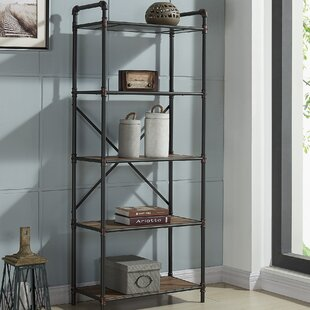 Wood And Pipe Bookcase Wayfair