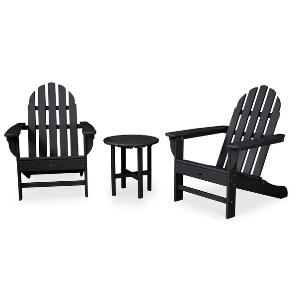 Cape Cod 3 Piece Seating Group Set by Trex Outdoor