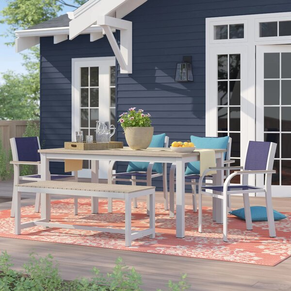 Caspian 6 Piece Dining Set by Sol 72 Outdoor