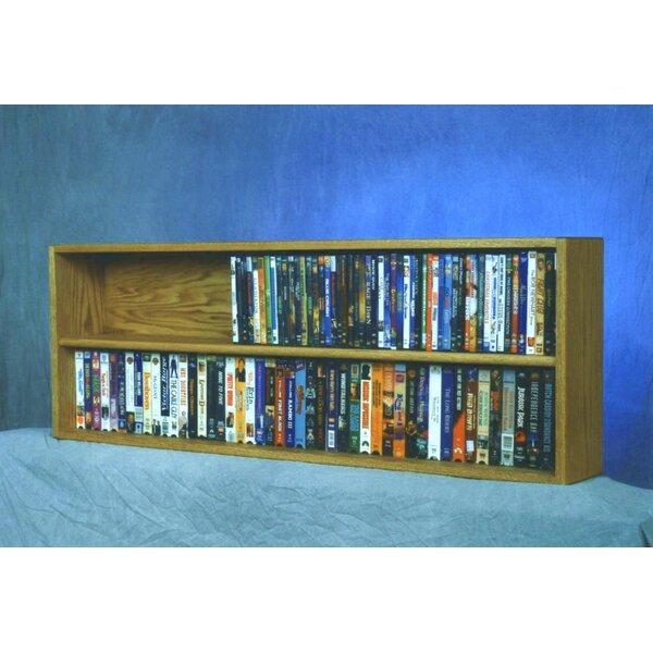 176 DVD Multimedia Tabletop Storage Rack By Rebrilliant