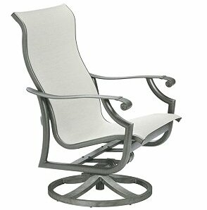 Montreux Swivel Patio Dining Chair by Tropitone Tropitone