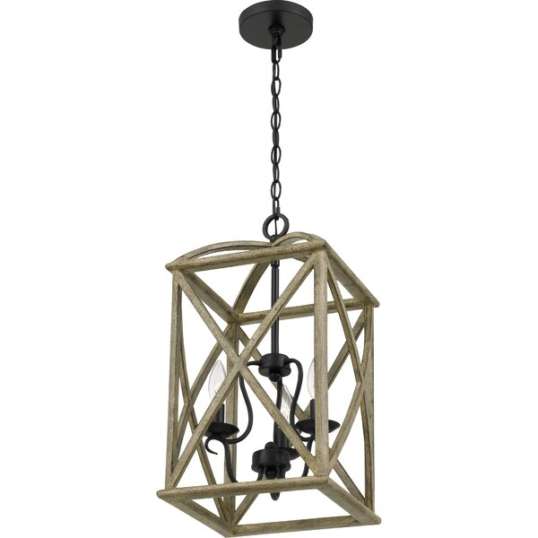 Chanler 3 - Light Candle Style Rectangle / Square Chandelier by Gracie Oaks Gracie Oaks