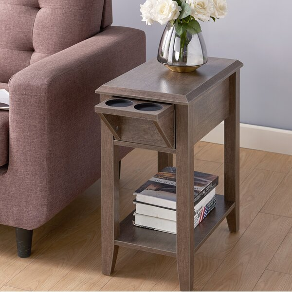 Thaxten End Table With Storage By Gracie Oaks