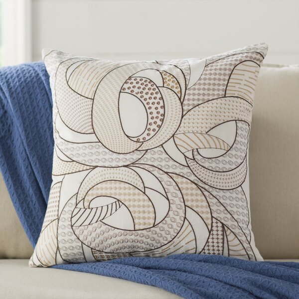 Ticking Geo Pillow Cover by Birch Lane™