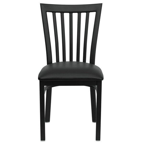 Lomonaco Upholstered Slat Back Side Chair by Winston Porter Winston Porter