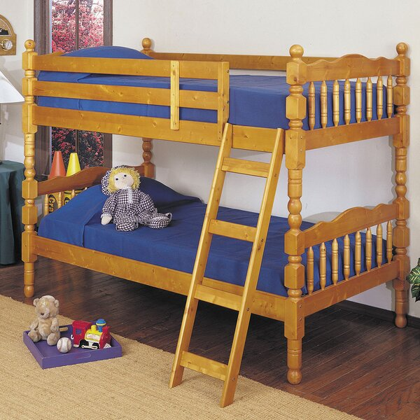 Curtiss Twin Over Twin Bunk Bed by Harriet Bee