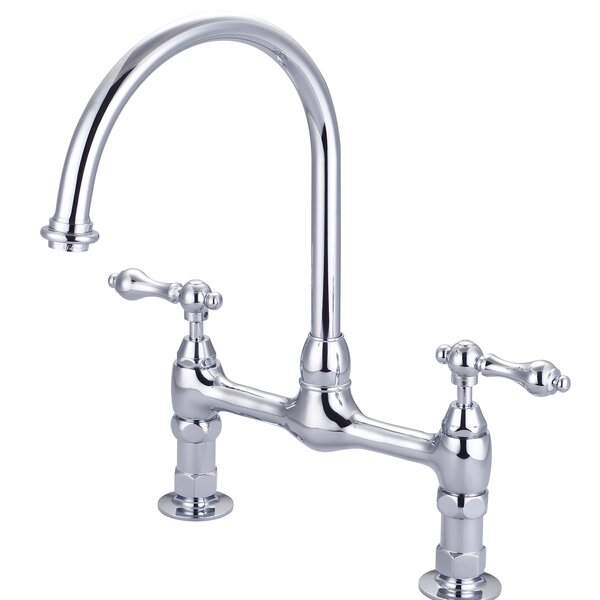 Harding Kitchen Bridge Faucet by Barclay