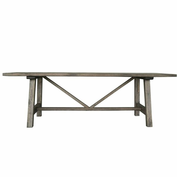 Karole Solid Wood Dining Table by Gracie Oaks