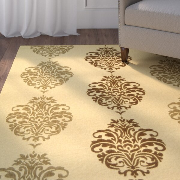 Herefordshire Natural/Brown Power Loomed Indoor/Outdoor Area Rug by Winston Porter