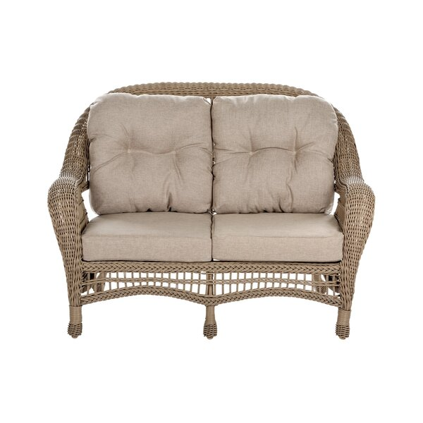 Ophélie 6 Piece Rattan Sofa Seating Group with Cushions