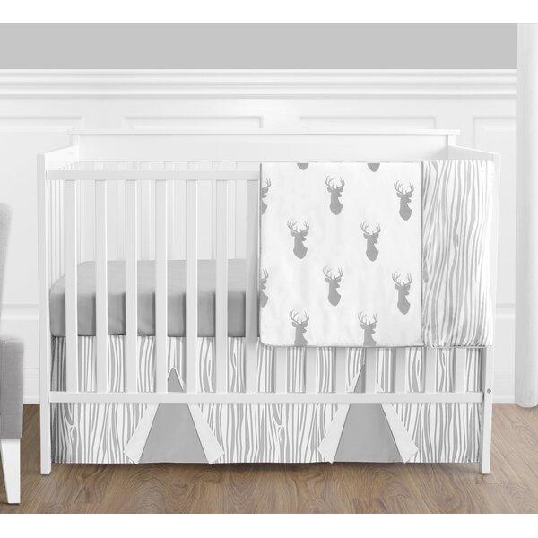 Woodland Deer 4 Piece Crib Bedding Set by Sweet Jojo Designs