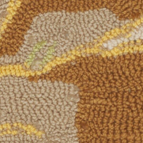 Hayes Yellow/Blue Indoor/Outdoor Area Rug by Ebern Designs