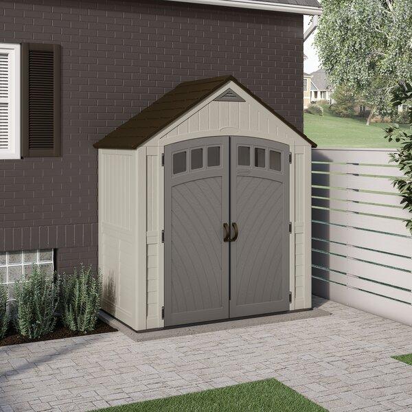 Outdoor Covington 7 1/2 ft. W x 4 ft. D Storage Shed by Suncast Suncast