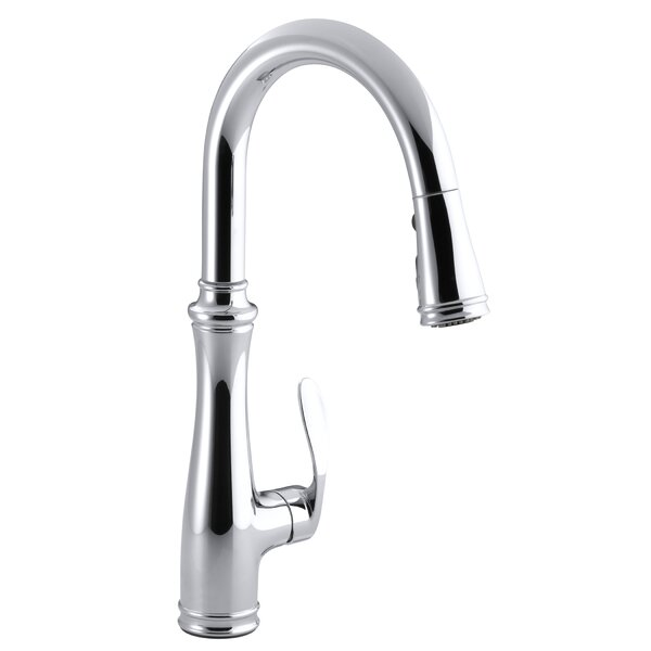 Bellera Pull Down Single Handle Kitchen Faucet with DockNetik®, MasterClean™, and ProMotion™ by Kohler