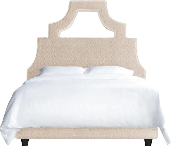 Natalie Upholstered Platform Bed by My Chic Nest