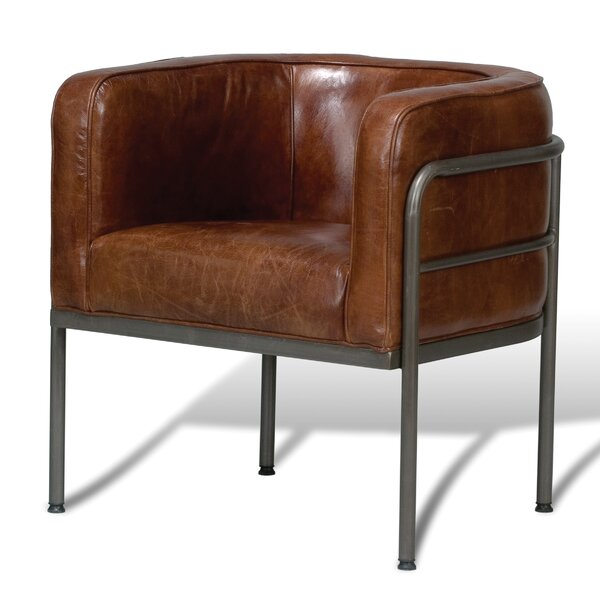 Mcafee Barrel Chair By 17 Stories