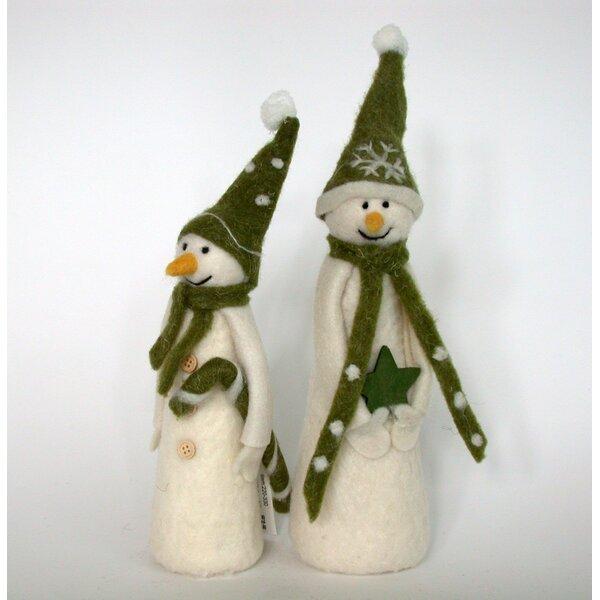 2 Piece Snowmen Set by APG Gifts