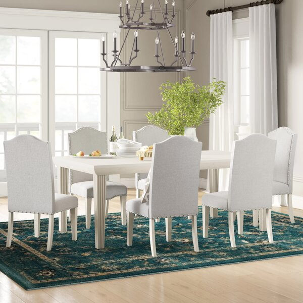 Calila 7 Piece Extendable Solid Wood Dining Set by Birch Lane™ Heritage