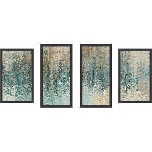 'Revealed' by Mark Lawrence 4 Piece Framed Graphic Art Set by Picture Perfect International
