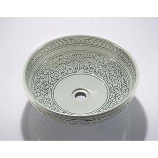 Circular Vessel Bathroom Sink ByLegion Furniture