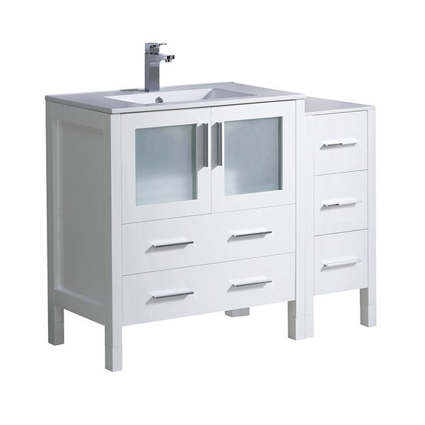 Torino 42 Single Bathroom Vanity Set by Fresca