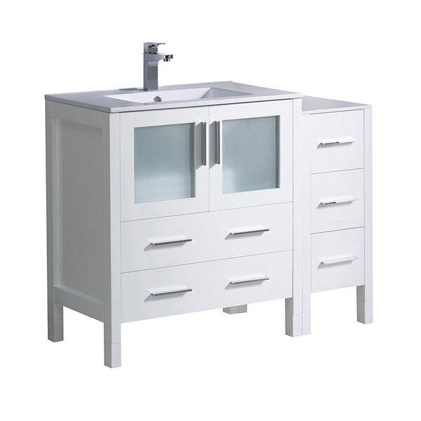 Torino 42 Single Bathroom Vanity Set by Fresca