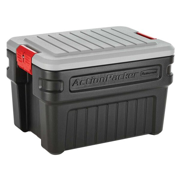 Action Packer Storage Plastic Tote